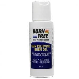 Burn free blažilni gel za opekline