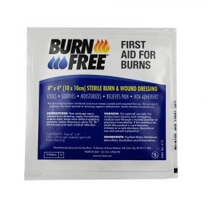 Burn free penasta obloga