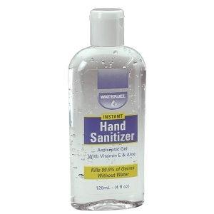 Water Jel, Antiseptični gel za razkuževanje, 120 ml