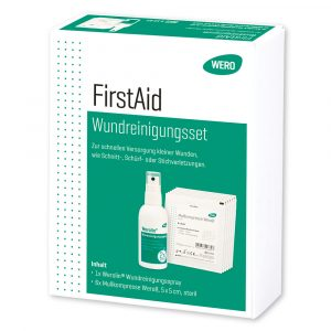 Wero FirstAid – Set za oskrbo ran