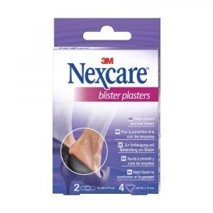 3M Nextcare Blisters, vodoodporni obliži proti žuljem (6 obližev)